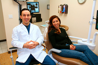 Dentist Glendale and Patient